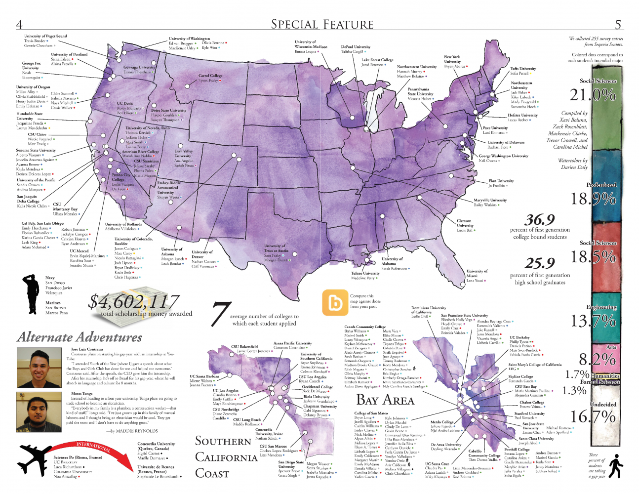 The 2017 College & Career Map
