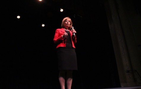 Rep. Speier shares life experiences, motivates students at Sequoia assembly