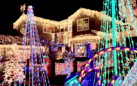 Holiday cheer lights up Peninsula with snow many lively activities
