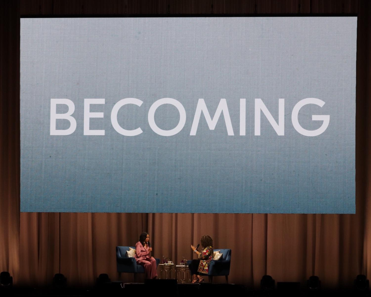 The Intimate Conversation With Michelle Obama