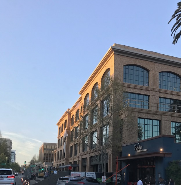 While the hangout spot doesn't yet have an official location, one ideas was using the bottom floor of a future Facebook office in downtown Redwood City on certain days.