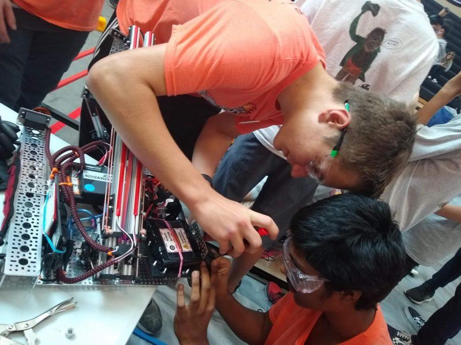Robotics tournament held at Sequoia