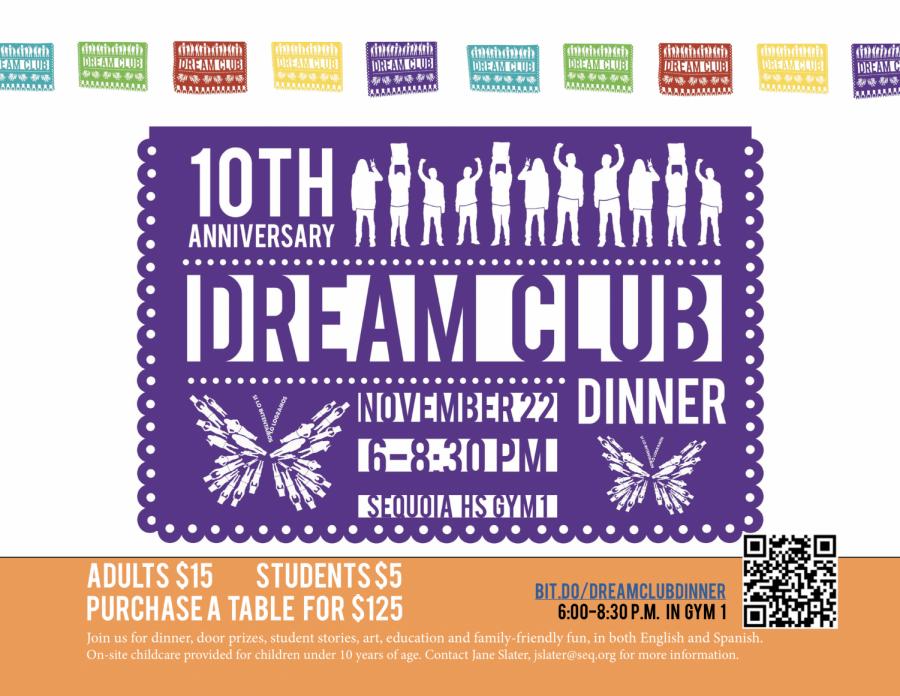 Dream+Club+Dinner+this+Friday